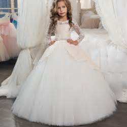 Popular graduation dresses kids buy cheap graduation for Robe de communion ikks