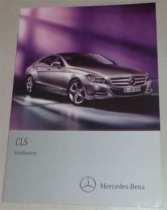 Operating Instructions  Quick Start Guide Mercedes Benz Cls