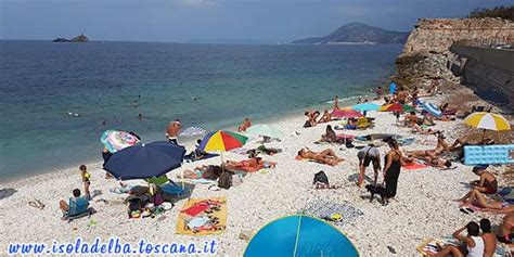 Le Ghiaie Portoferraio - spiaggia delle ghiaie a portoferraio isola d elba