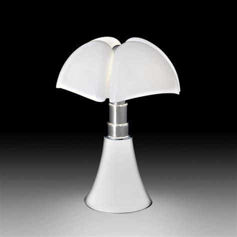 Lampa Stołowa Biała Pipistrello  Meble Jakich Szukasz