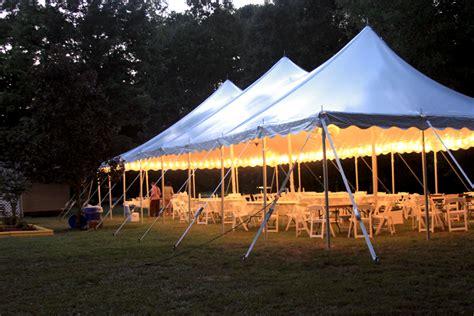 high peak pole tent rental oconee  wedding