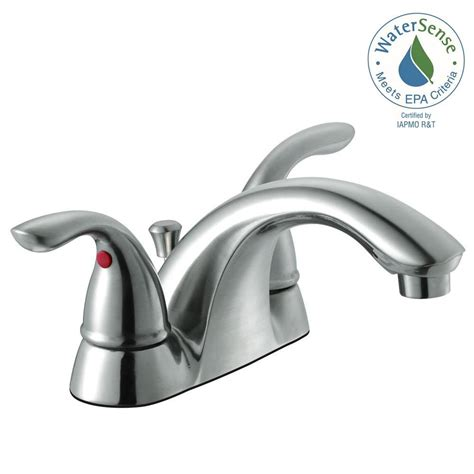 low arc kitchen faucet glacier bay builders 4 in centerset 2 handle low arc
