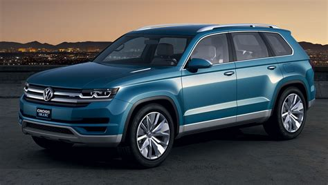 Suvs In Usa by Volkswagen To Build 7 Seater Crossblue Suv In Usa
