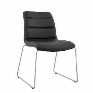Chaise Noire Design : chaise design relax noir ~ Teatrodelosmanantiales.com Idées de Décoration