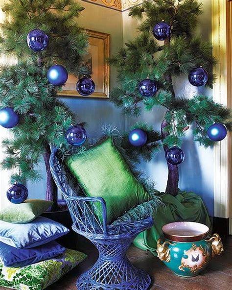 blue christmas decoration blue decorations celebration all about