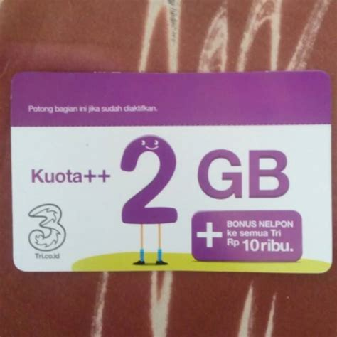 voucher tri kuota 2gb voucer three kuota 2 gb vocer isi ulang 3 internet data shopee indonesia