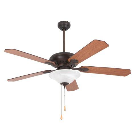 home decor ceiling fans yosemite home decor 52 in rubbed bronze