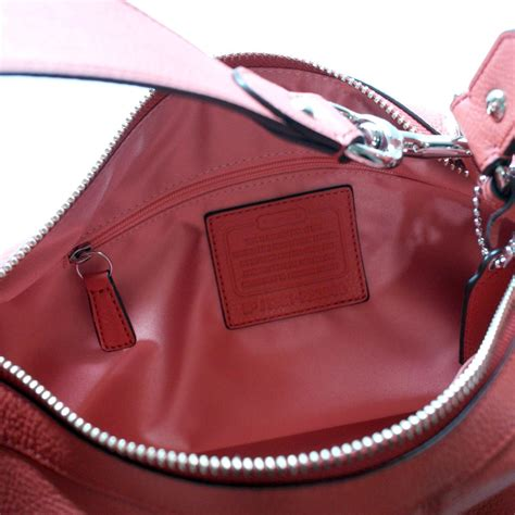 coach avery leather small hobo bag sienna  coach