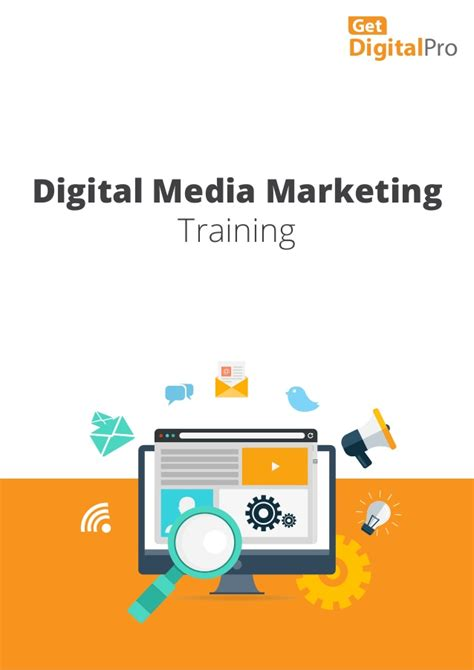 digital media courses digital media marketing brochure