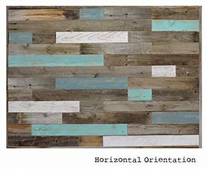 Reclaimed Wood Headboard Panel For King Bed 825quot X 375