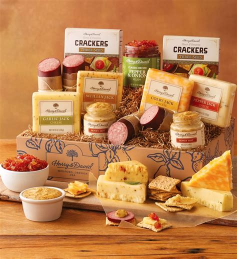 meat and cheese gift basket gourmet sausage and cheese gift harry david