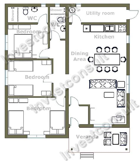 3 bedroom home plans builder in bourgas bulgaria investconsult