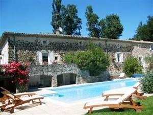 chambres d39hotes saint lager bressac bnb ardeche avec With hotel de charme en ardeche avec piscine