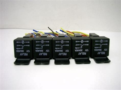 Pack Volt Amp Bosch Type Relay Harness