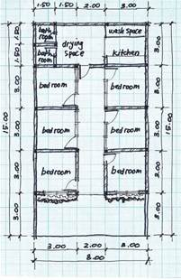 house design plan boarding house plans