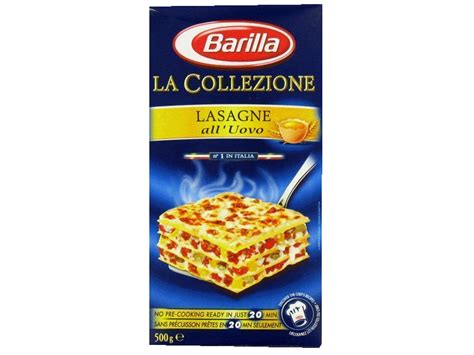 barilla lasagne ao 500g tous les produits p 226 tes nouilles prixing