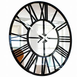 Mirror Wall Clock Photo Wall Clocks