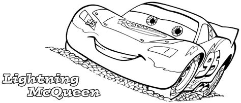 cars characters coloring cars character lightning mcqueen coloring pages