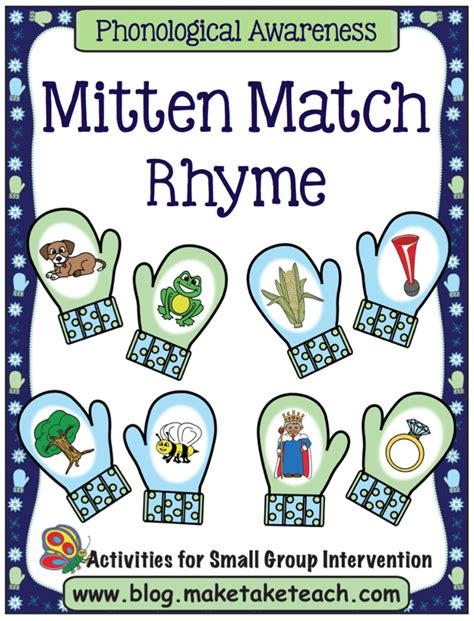 mitten match activities make take amp teach 534 | mmrhypg1areduced