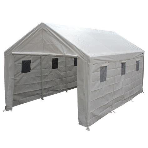 gazebo for cing king canopy hercules 10 ft w x 20 ft d steel snow load