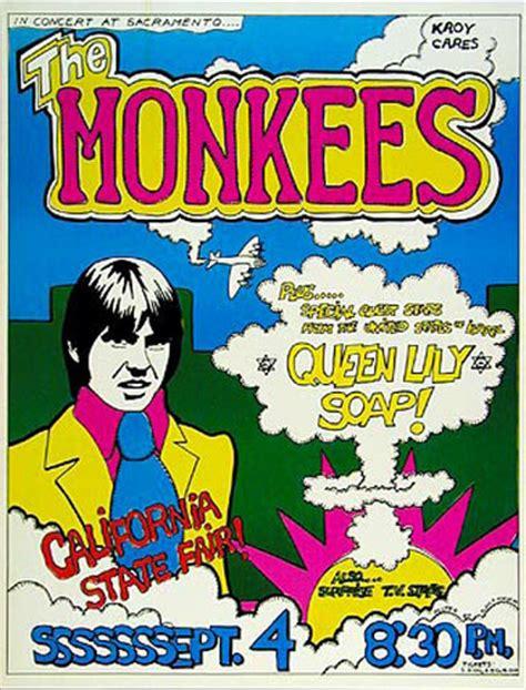 The Monkees Sacramento Concert California State Fair Poster