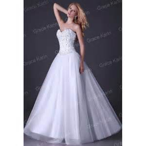 wedding gown deb dress enhanced clothing