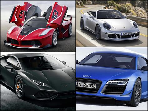 The 8 Hottest Supercars Of 2014