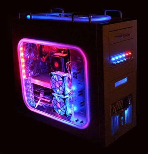best pc case lighting moby2