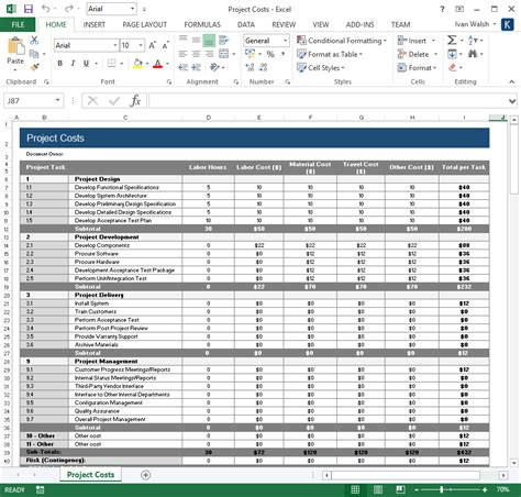 test plan  ms word excel template