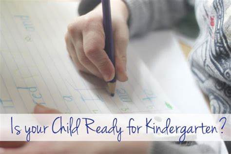 is your child ready for preschool is your child ready for kindergarten to find out work 665