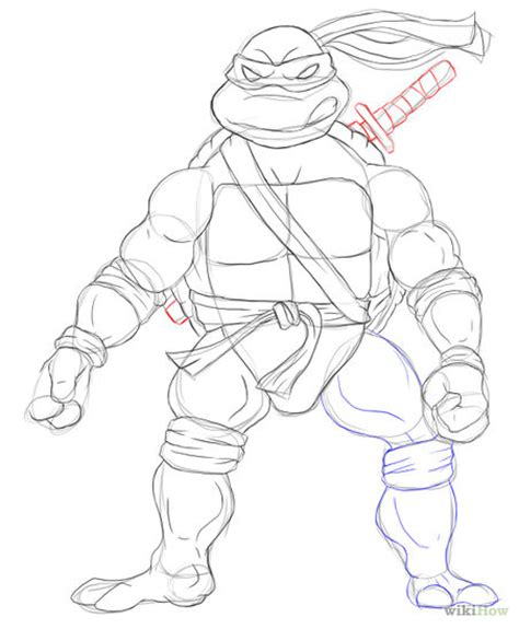 Tmnt Body Template by Ninja Turtle Body Template Www Imgkid The Image