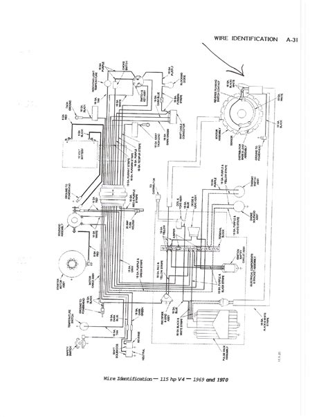 Mariner 115 Hp Wiring Diagram by I Need The Wiring Diagram For A 115 Hp Outboard Motor 1970