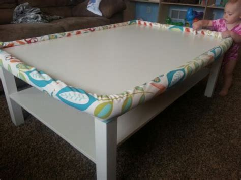 baby proof coffee table diy coffee table pool noodles and the two on pinterest