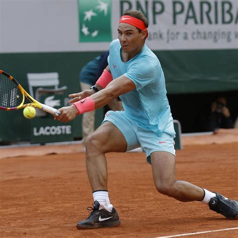 Rafael Nadal Advances to 2020 French Open Final with Win ...