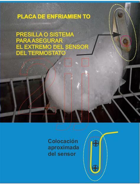 solucionado heladera philco techno forma hielo en extremo termostato yoreparo