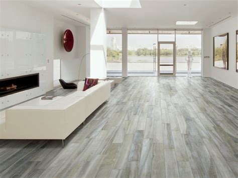 porcelain tile wood floors hickory fog 6 x 36 porcelain wood look tile