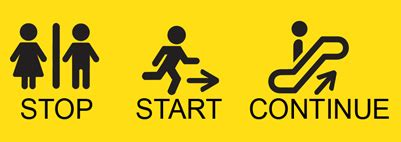 start stop methode what will you stop start and continue in 2013