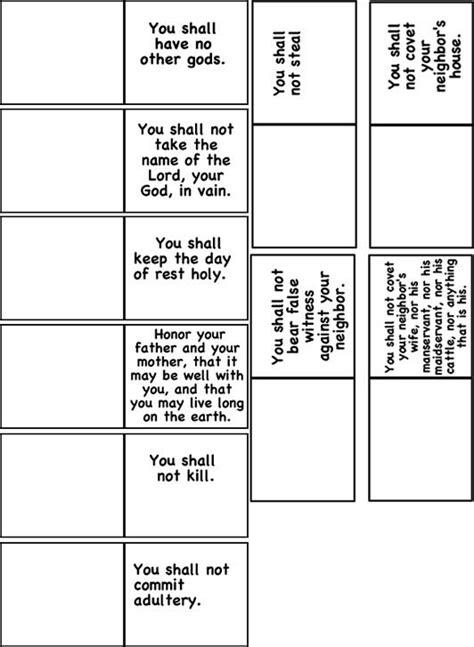 templates educacion template for 10 commandments iphone sunday school