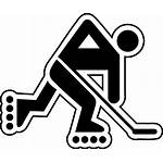 Svg Hockey Roller Inline Clipart Commons Street