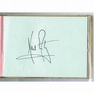 Neil Armstrong Autograph Book - PFC Auctions