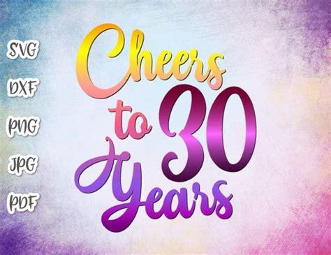 birthday svg  cheers   years
