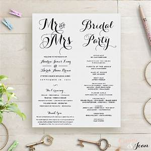 wedding order template 38 free word pdf psd vector With order of service for a wedding ceremony