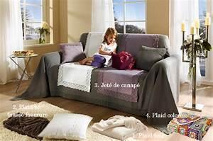 Plaid Pour Canapé : plaid pour canape cuir ~ Premium-room.com Idées de Décoration