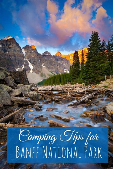 How To Pitch A Tent In Beautiful Banff The Travelling Mom