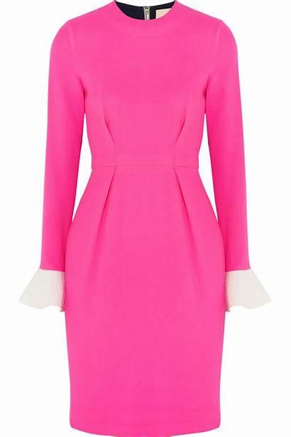 Pink Block Izumi Roksanda Crepe Wool Normal
