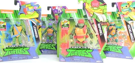 rise   tmnt action figures wave  review playmates toys