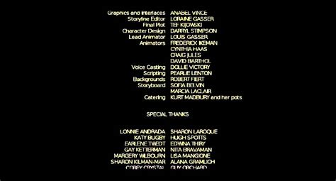 tv credits template let the final credits roll velvet paws of asquith youtube