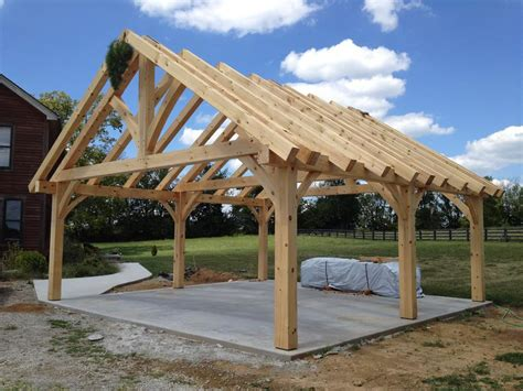 timber frame pavilion  shelbyville ky vermont frames