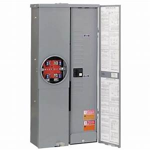 200 Amp Manual Transfer Switch With Combo Service Entrance