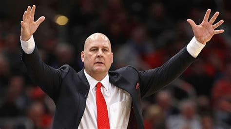 chicago bulls players push   coach jim boylens